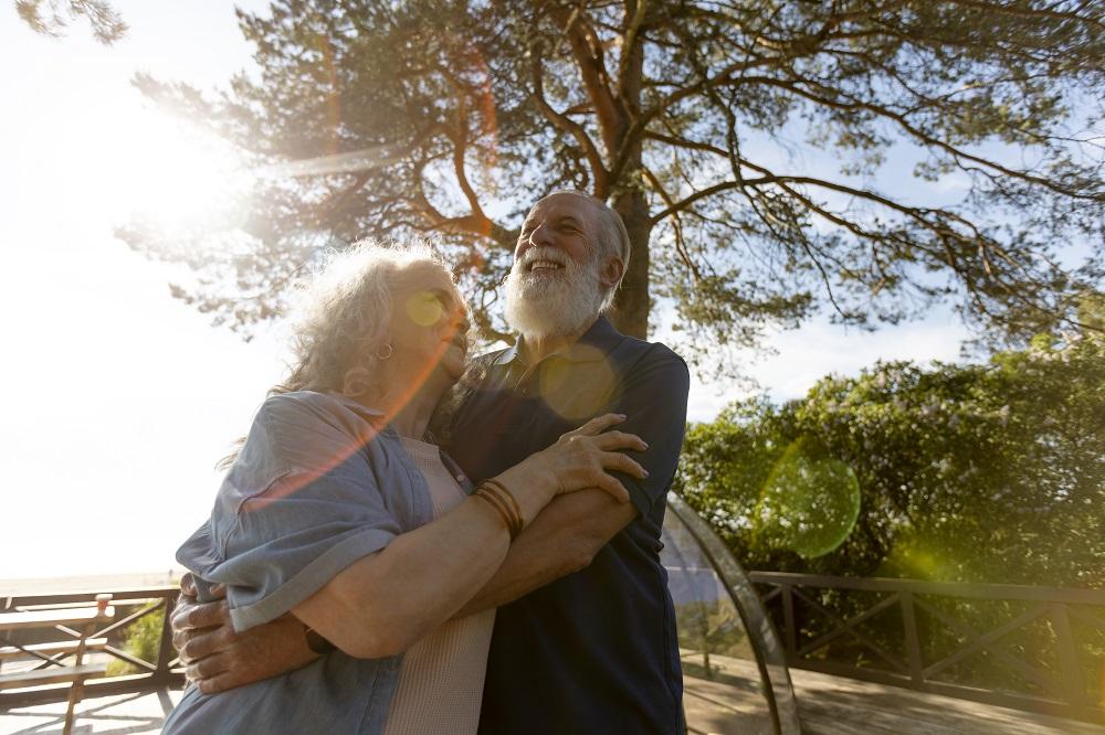 previda casal de idosos